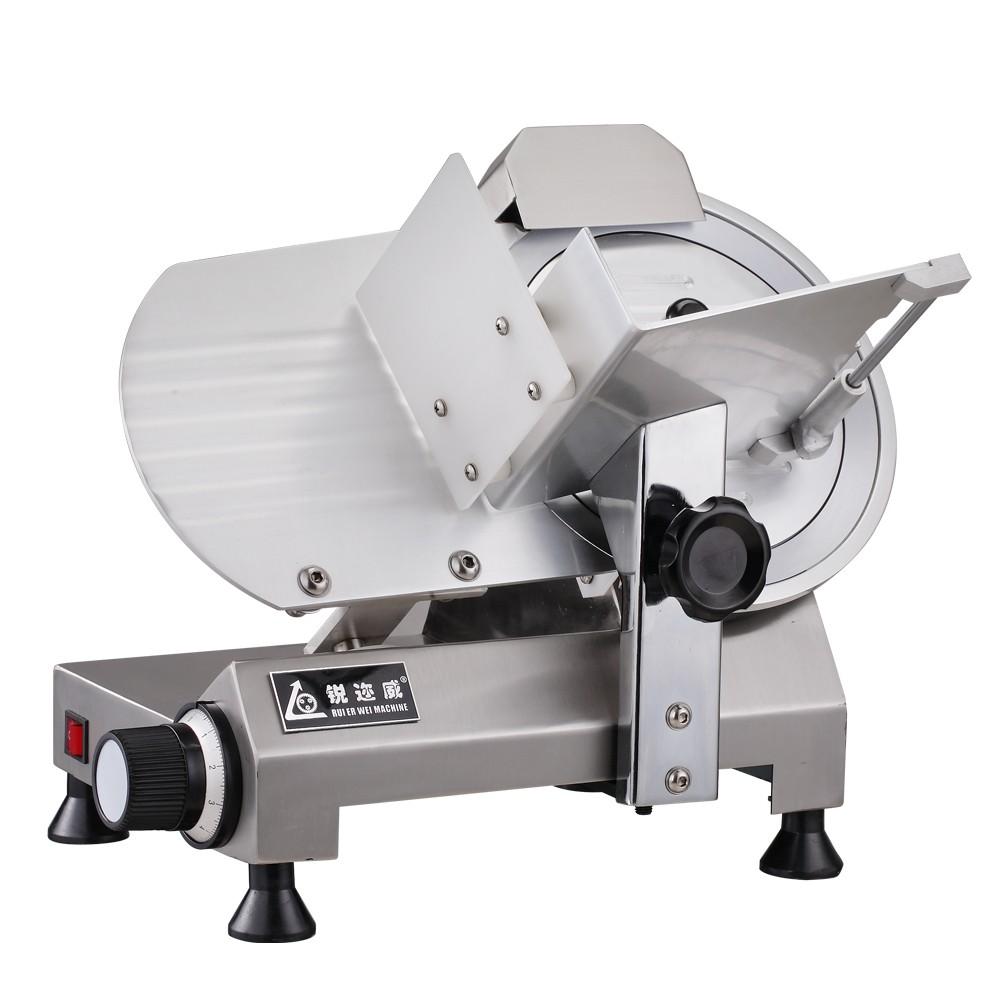 220C羊肉切片机/半自动切片机/切片机切冻肉机 刨肉机羊肉牛肉切片机